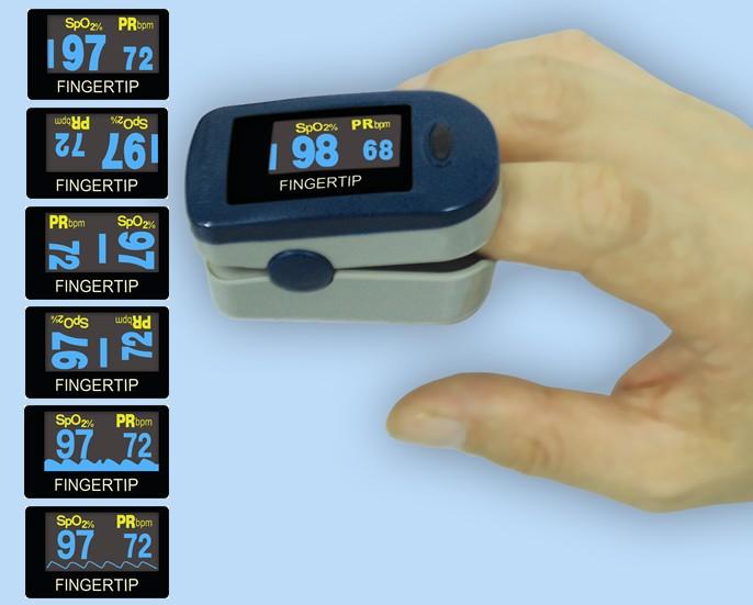 Fingerpulsoximeter FPO-2 D