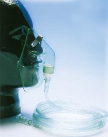 Sauerstoff-Maske-Kinder