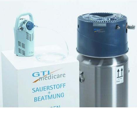 med. Flüssig-Sauerstoff (O2)